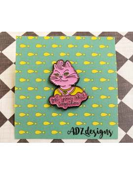 Princess Carolyn Enamel Pin Broche   Bo Jack Horseman Lapel Pin by Etsy