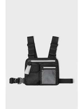 Zippered Chest Bag Belt And Crossbody Bags Backpacks And Handbags Man by Zara