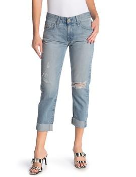 Ex Boyfriend Slim Slouchy Crop Jeans by Ag