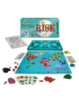 Classic Reproduction 1959 First Edition Risk Board Game by Winning Moves