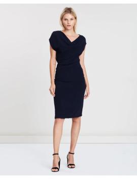 Cap Sleeve Dress by Reiss