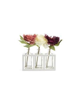 Flower Trio In Glass Jar by Primark