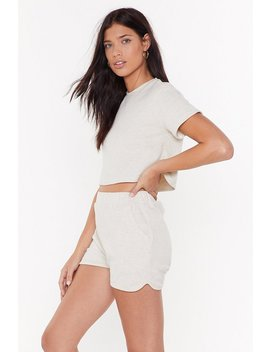 We've Got The Chill Factor Lounge Crop Top by Nasty Gal