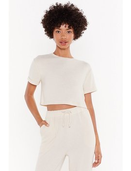 We've Got The Chill Factor Crop Top by Nasty Gal