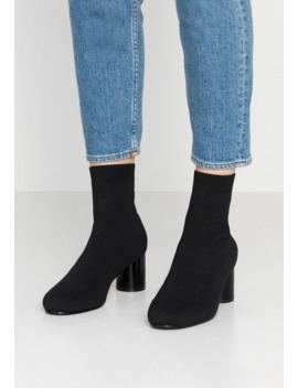 Onlbimba Heeled Sock Bootie   Stiefelette by Only Shoes