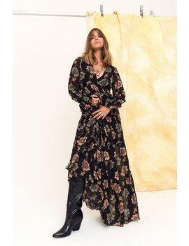 Landslide Floral Maxi Dress by Nasty Gal