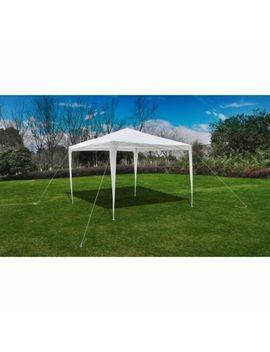Vida Xl Party Tent 3x3m Patio Camping Gazebo Marquee Pavilion Canopy Blue/White by Vida Xl