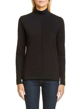 Lightweight Jersey Turtleneck by Ganni