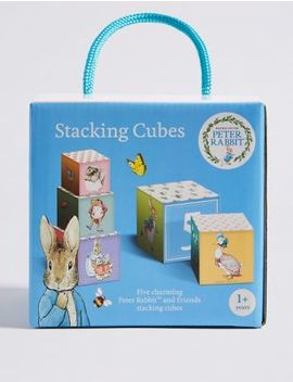 Peter Rabbit™ Stacking Cubes by Marks & Spencer