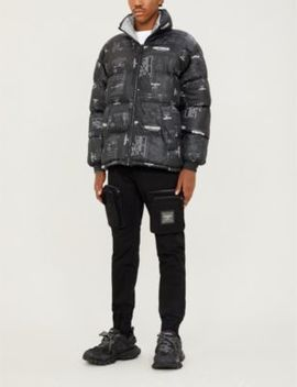 Reversible Padded Shell Jacket by Boy London