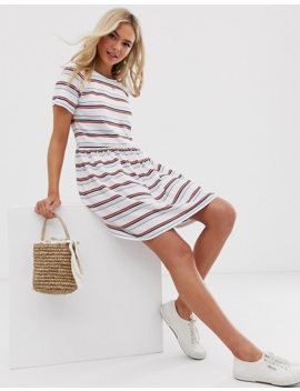 Heartbreak Smock Dress In Stripe by Dress