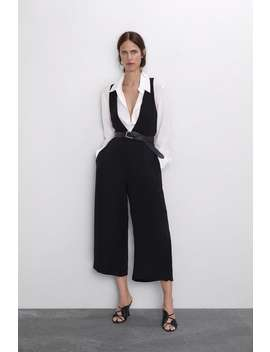 Jumpsuit With Buttoned Straps New Inwoman by Zara