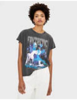Unicorn T Shirt by Bershka