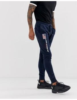 Asos Design   Joggers Skinny Con Bandiera Ricamata by Asos Design