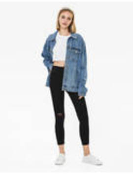Ripped High Waist Jeans by Bershka