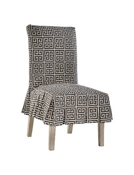 Roman Key Dining Chair Slipcover by No Brand