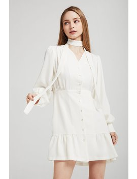 May Buttoned Front Dress by Storets