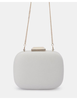 Mila Rounded Simple Clutch by Olga Berg