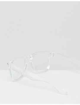 7 X Clear Frame Glasses by Asos