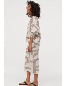 Falda Con Estampado Jacquard by H&M