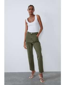 Cargo Trousers Pantstrf by Zara