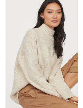 Oversized Turtleneck Pullover by H&M