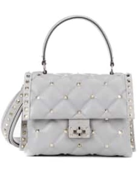 Valentino Garavani Candystud Medium Leather Shoulder Bag by Valentino