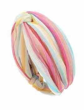 Metallic Striped Headband by Missoni Mare