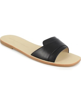 Farella Slide Sandal by Cupcakes And Cashmere