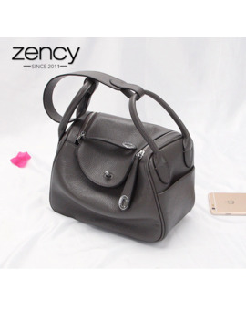 Zency New Doctor Style 100% Genuine Leather Women's Handbags Classic Lady Shoulder Purse Crossbody Messenger Bag Tote Satchel by Ali Express.Com