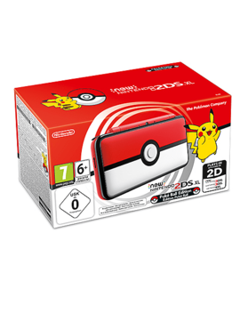 New Nintendo 2 Ds Xl Poke Ball Edition Console by Game