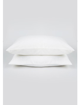 100% Brushed Cotton Pillowcases by Matalan
