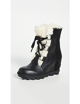 Joan Wedge Shearling Boots by Sorel
