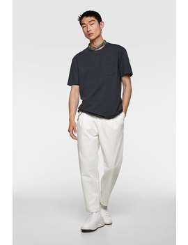 80s Chino Trousers View All Pants Man by Zara