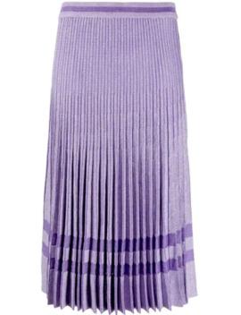Cyrilla Pleated Skirt by Baum Und Pferdgarten