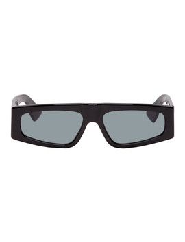 Black Dior Power Sunglasses by Dior Homme
