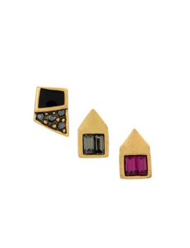 3 Stud Earrings Set by Camila Klein