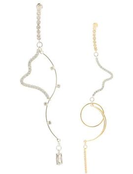 Spiral Drop Earrings by Mounser