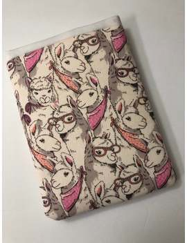 Pink Glasses Llama by Etsy