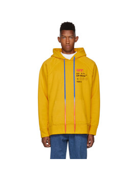 Yellow Industrial 'y2013' Incomplete Hoodie by Off White