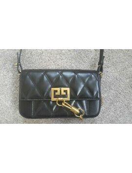 Givenchy Mini Pocket Leather Shoulder Bag Black by Ebay Seller
