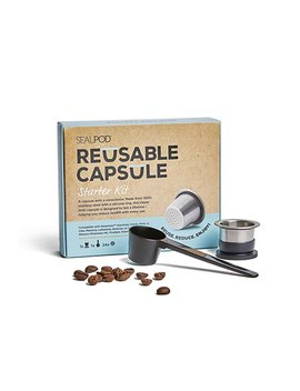 Seal Pod Reusable Coffee Capsules Starter Pack by Sealpod