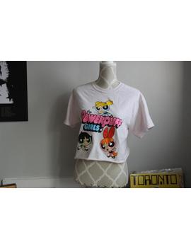 Thrifted Power Puff Girls Crop Top by Etsy