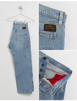 Levis Skateboarding 512 Original Carpenter Jeans In Light Wash by Levi's