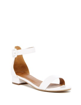 Justine Ankle Strap Sandal   Wide Width Available by 14th & Union