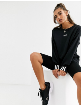 Adidas Originals Ryv Sweatshirt In Black by Adidas