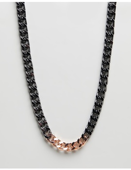 Solid Id Chain Necklace by Wild For The Weekend