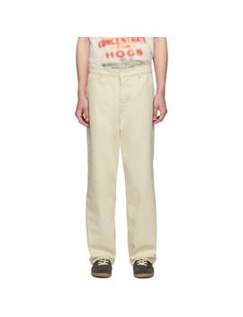 Pantalon Blanc Cassé Carpenter by Our Legacy