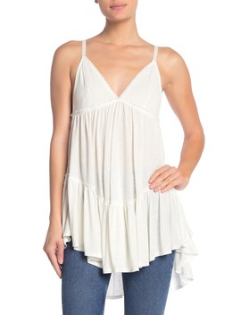 Bella Donna Sleeveless Tunic Top by Free People