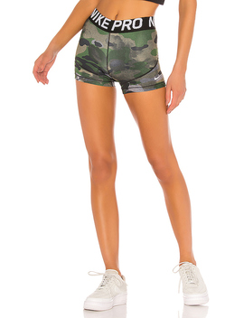 "Rebel 3"" Pro Camo Short by Nike"